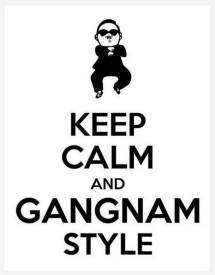 gangnam style keep calm and