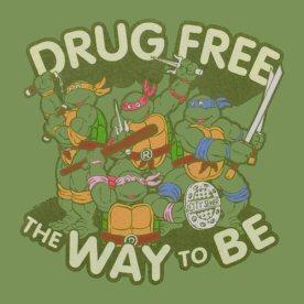 drug free ninja turtles
