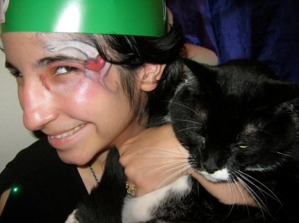 medieval times facepainting cat pet special needs allergies