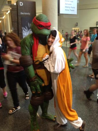 Raphael comic con dallas ninja turtles tmnt