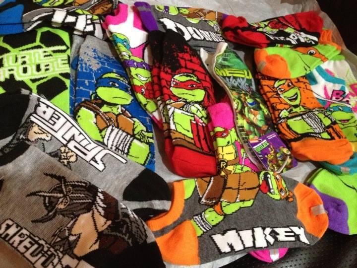 ninja turtle socks