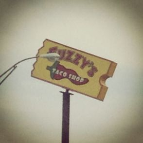 fuzzy's blockbuster sign