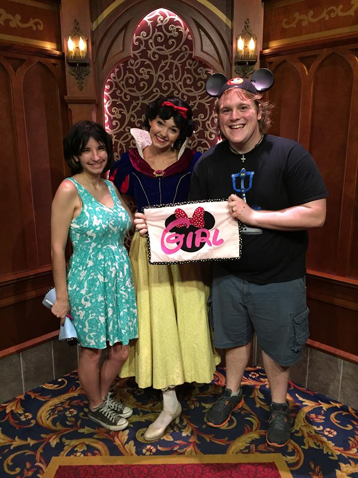 disneyland gender guesses pregnancy snow white