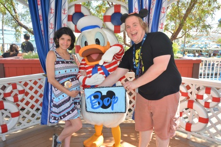 disneyland gender guessing game donald duck