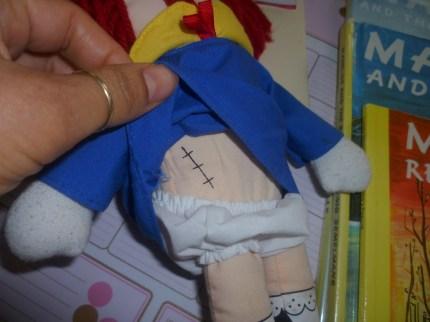 1 madeline scar